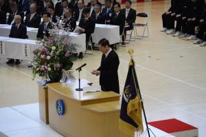 3月12日 9年生卒業式