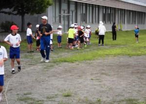 初等部(1~4年生)業間マラソン