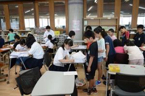 猛暑も何のその。夏休み寺子屋学習会