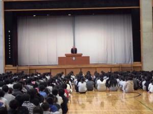 12月23日 2学期終業式