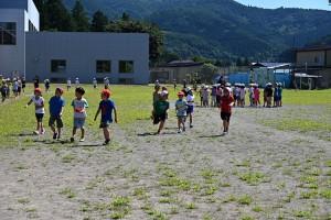 8月25日 初等部業間マラソン再開